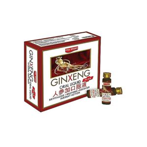 Paul Brooks Ginxeng Plus Oral Ampoules