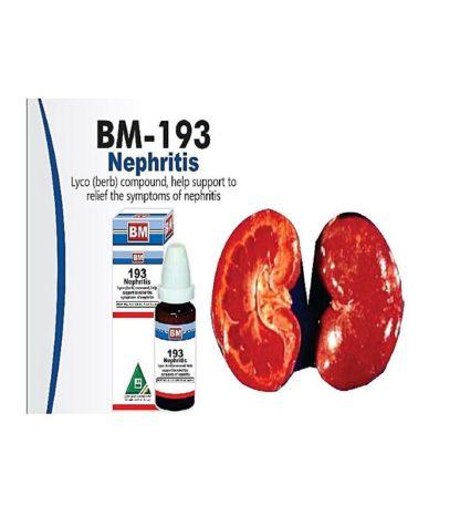 BM Homeopathic BM 193 NEPHRITIS